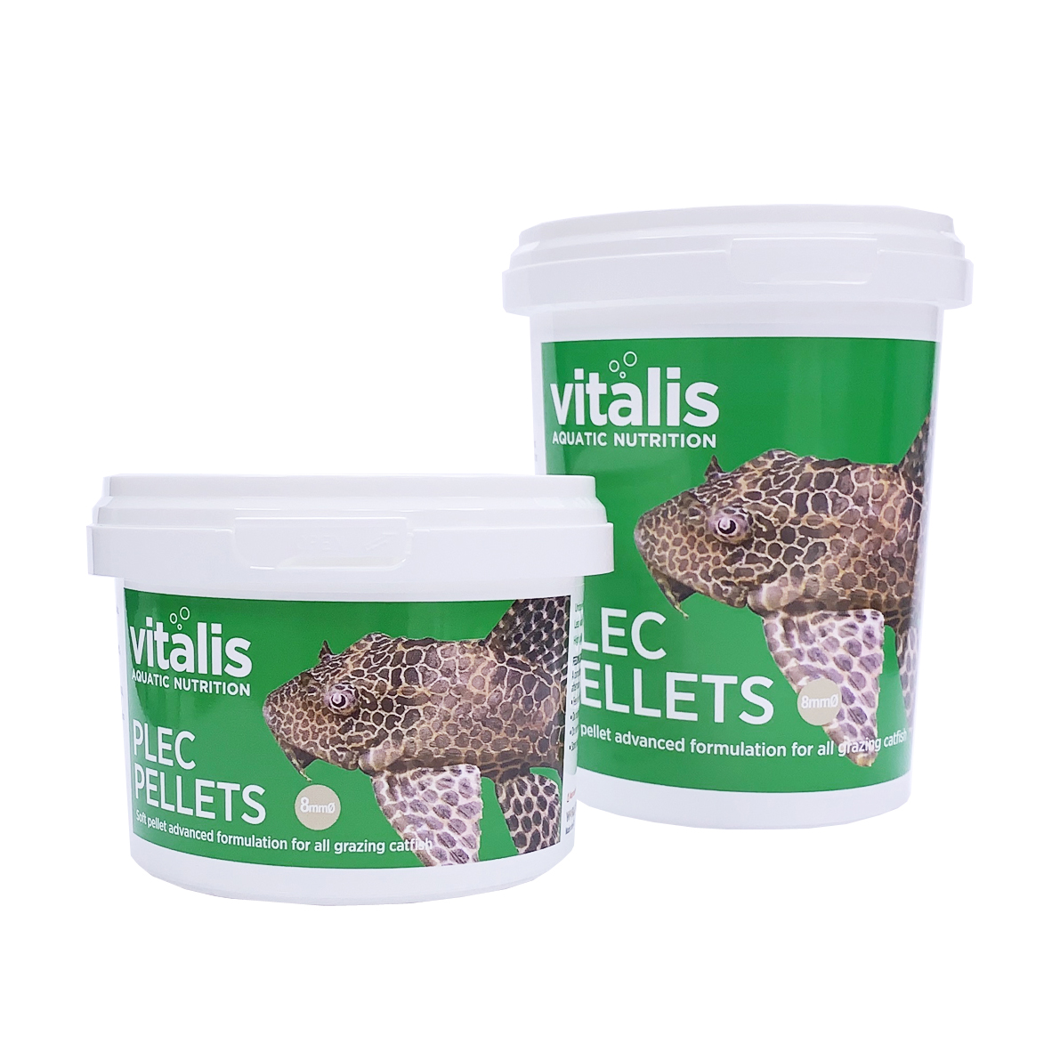 VITALIS PLEC PELLETS 8MM 160G 280ML